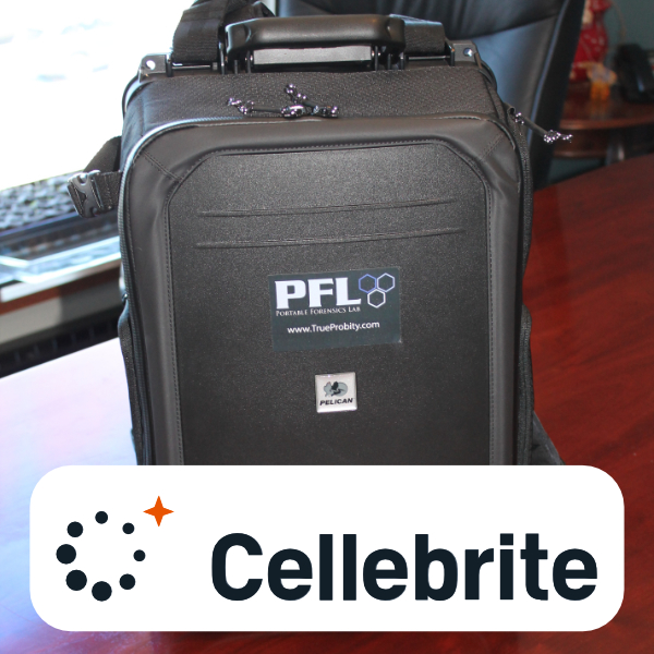 Portable Forensics Lab w/Cellebrite UFED InField